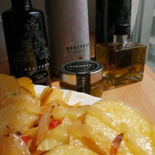 Con nuestro aceite de oliva te salen unas papas pochas insuperables. #aove #vegetal #comidasana #rico #shop #recetasfaciles #yummyfood