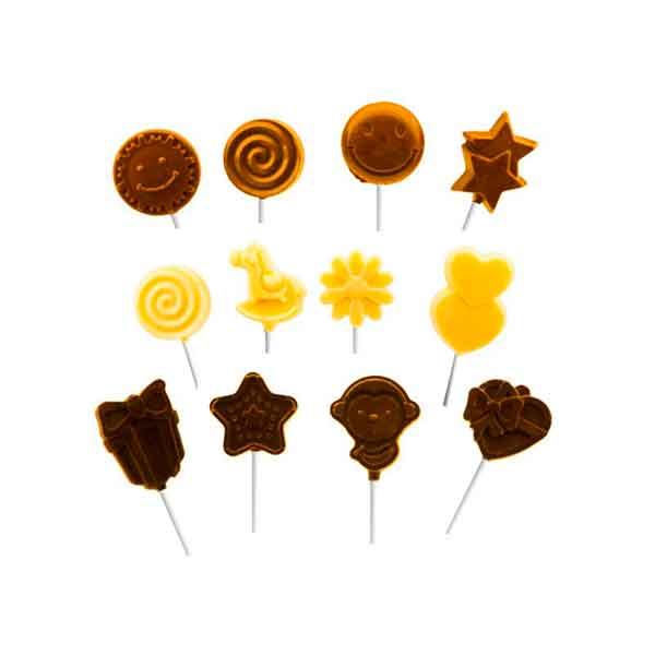 piruletas de chocolate artesano en shop.aceitedeoliva.com