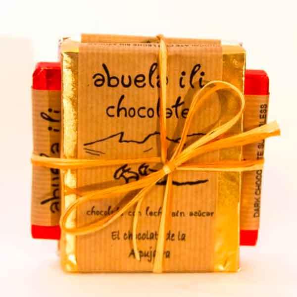 Chocolate sin azucar sabores variados en shop.aceitedeoliva.com