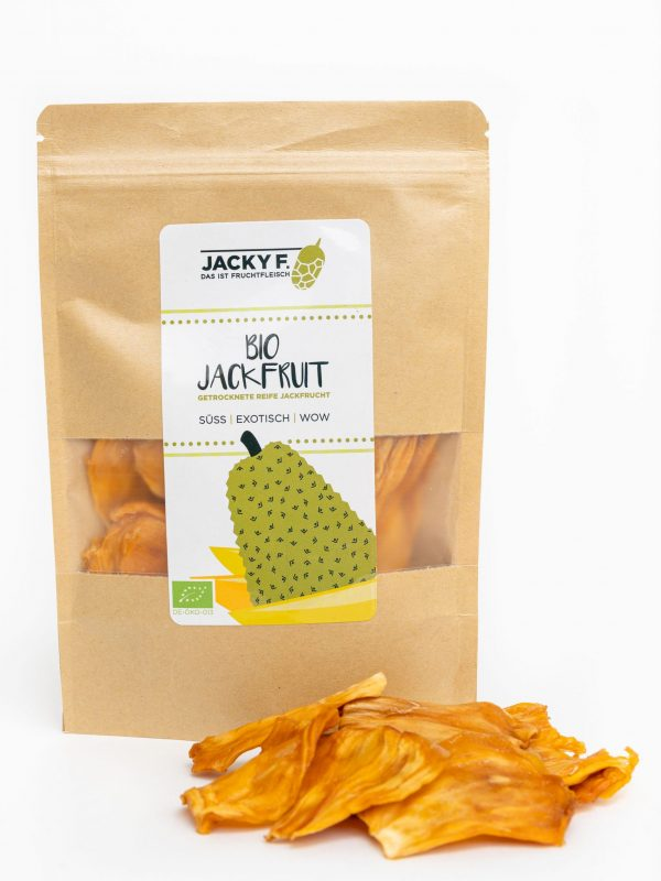 jackfruit snack saludable , crujiente y dulce