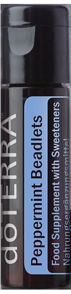 aceites esenciales doterra peppermint perlas