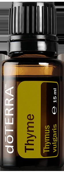 aceites esenciales doterra thyme tomillo
