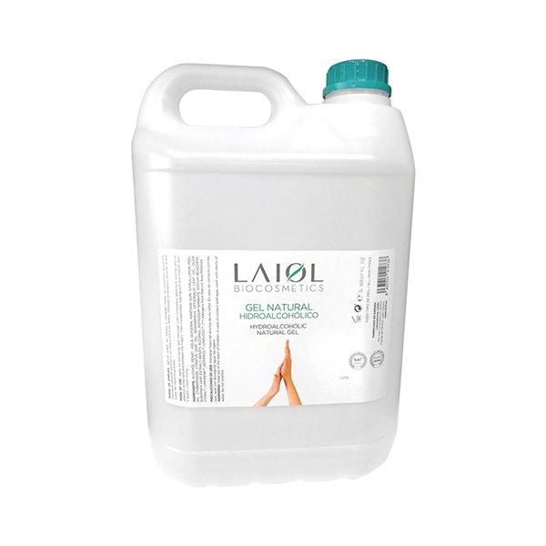 Laiol gel hidroalcoholico natural 5li