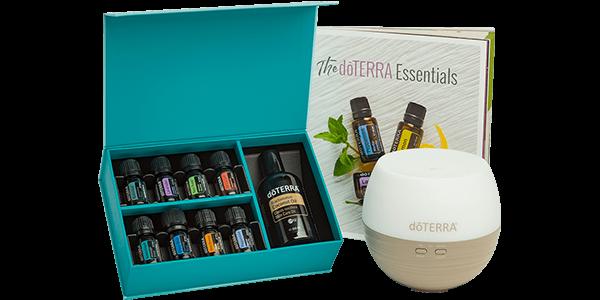 aceites esenciales doterra kit inscripcion aromatouch