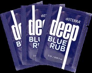 aceites esenciales doterra muestras deepblue