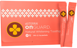 aceites esenciales doterra muestra pasta dientes