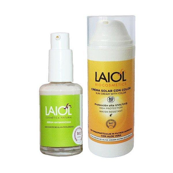 Laiol antimanchas + protector solar