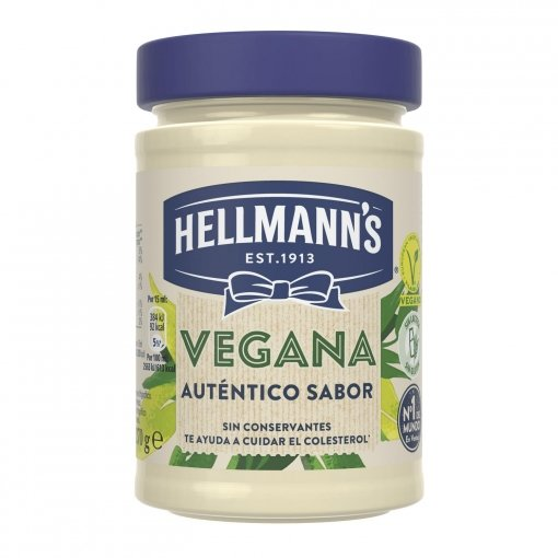 Mayonesa vegana sin gluten